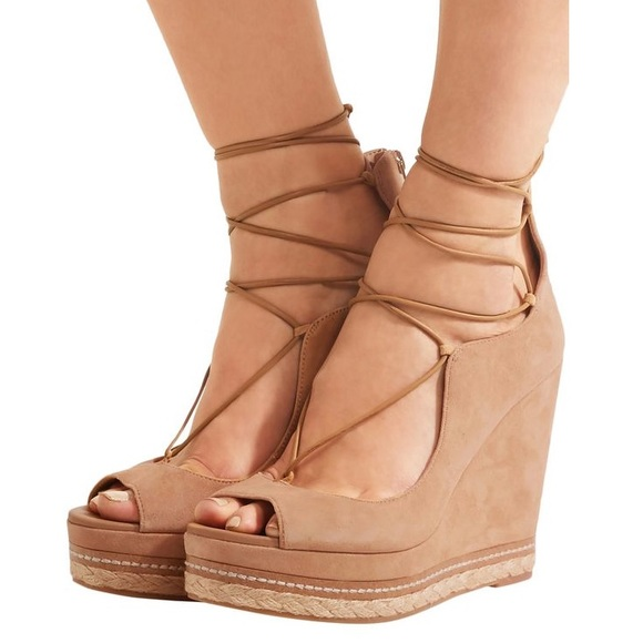 "e1669d91d29 Sam Edelman ""Harriet"" Wedge Suede Sandal"